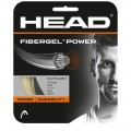 Naciąg do rakiet tenisowych Head FiberGel Power (12m) - natural