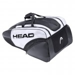 Head Djokovic 12R Monstercombi - white/black 2021