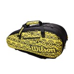 Wilson Minions Tour 12Pk - black/yellow