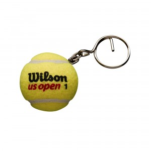 Breloczek Wilson Us Open - yellow
