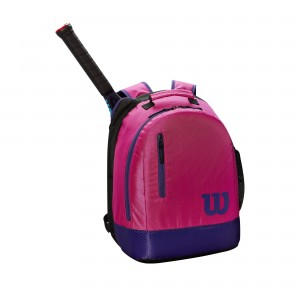 Wilson Youth Backpack - pink/purple