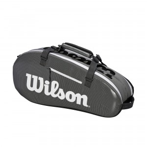 Wilson Super Tour 2 Comp Small - black/grey