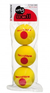 Tecnifibre My ball Foam (3 szt.)