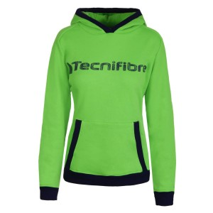 Tecnifibre Lady Hoodie - green