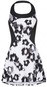 Head Performance Dress W - black/white