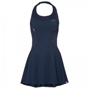 Head Performance Dress W - dark blue