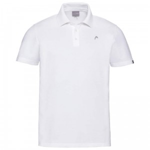 Head Polo M - white