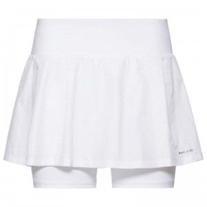 Head Performance Skort W - white