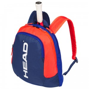 Head Kids Backpack - blue/orange
