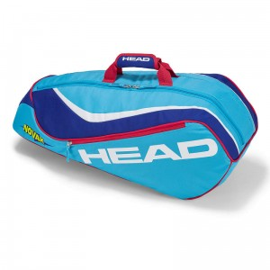 Head Junior Combi Novak - lightblue/ blue
