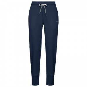 Head Club Byron Pants Jr - dark blue/ white