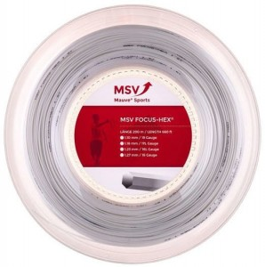 MSV Focus Hex Spin + Control (200m) - white