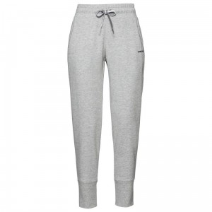 Head Club Byron Pants Jr - grey melange/black