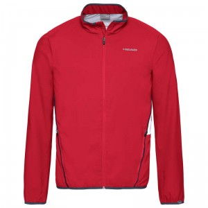 Head Club Jacket G - red