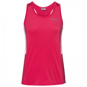 Head Club Tank Top G - magenta