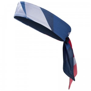 Head Bandana Tennis - royal/red