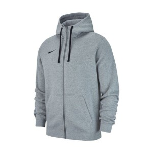 Nike Hoodie FZ Y Team Club 19 M - grey