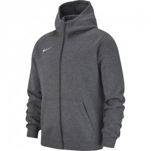Nike Hoodie FZ Y Team Club 19 M - dark grey