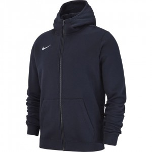 Nike Hoodie FZ Y Team Club 19 M - dark blue