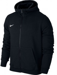 Nike Hoodie FZ Y Team Club 19 M - black