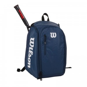 Wilson Tour Backpack - navy/white