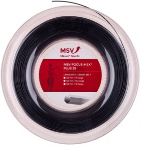 MSV Focus Hex Plus 25 (200m) - black