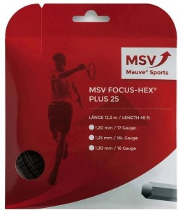 MSV Focus Hex Plus 25 (12,2m) - black