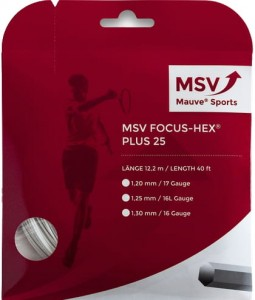 MSV Focus Hex Plus 25 (12,2m) - white