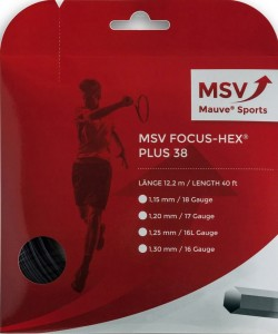 MSV Focus Hex Plus 38 (12,2m) - black