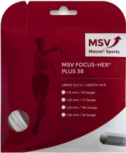 MSV Focus Hex Plus 38 (12,2m) - white