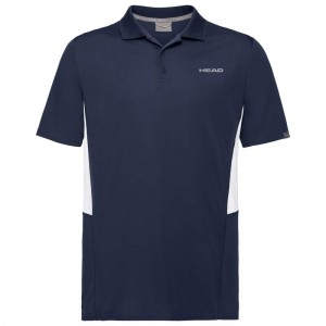Head Club Tech Polo Shirt B - dark blue