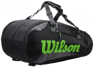 Wilson Super Tour 3 Comp - charcoal/green