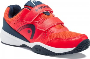 Head Sprint Velcro 2.5 Kids - neon red/dark blue