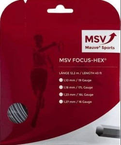 MSV FOCUS HEX (12,2M) - SILVER