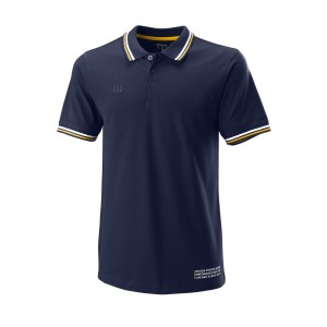 Wilson Since 1914 Pique Polo M - peacoat