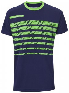 Tecnifibre F2 T-Shirt Jr - navy/green