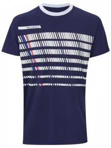 Tecnifibre F2 T-shirt Jr - navy/white