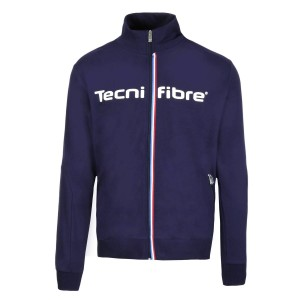 Tecnifibre Fleece Jacket 19 Jr - tricolore