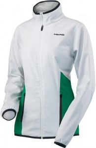 Head Club Jacket G - white/green