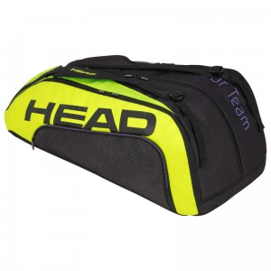Head Tour Team Extreme 12R Monstercombi - black/neon yellow