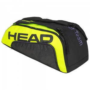 Head Tour Team Extreme 9R Supercombi - black/neon yellow
