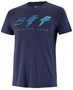 Babolat Drive Cotton Tee Men - drive blue