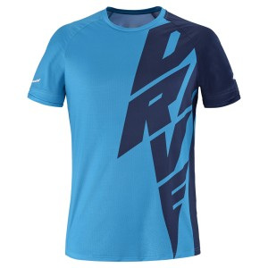Babolat Drive Crew Neck Tee Men - drive blue