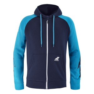 Babolat Drive Hood Jacket Men - drive blue