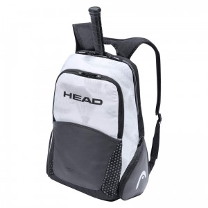 Head Djokovic Backpack - white/black 2021