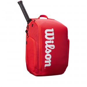 Wilson Super Tour Backpack - red