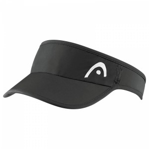 Head Pro Player Women's Visor - black