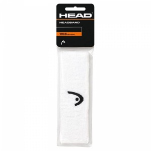 Head frotka na głowę Headband - white