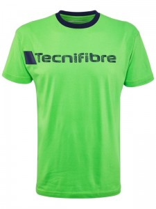 Tecnifibre Cotton Tee M - green
