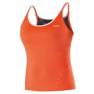 Head Performance Tank Top - coral